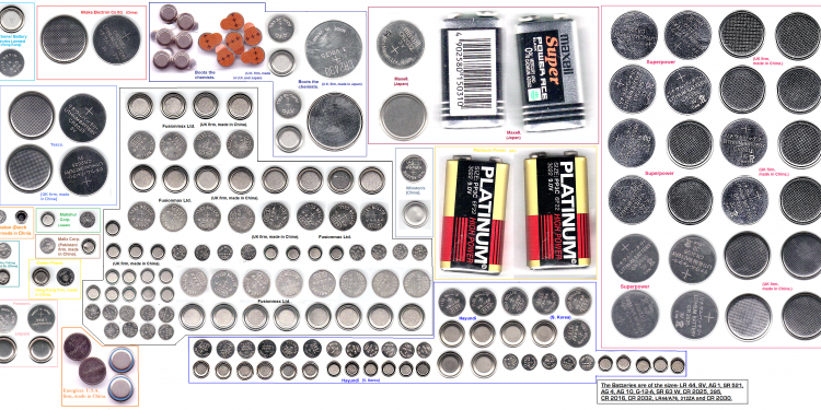 Battery technologies and their different types.