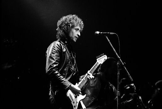 Bob Dylan performing in Toronto, free image